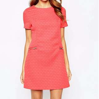 BNWT Coral Lipsy Shift dress