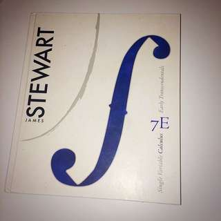stewart single variable calculus 7th edition
