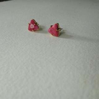 Fossil Jewellery  Stud/Earring-aunthentic-new With The Fossil Inscription Behind