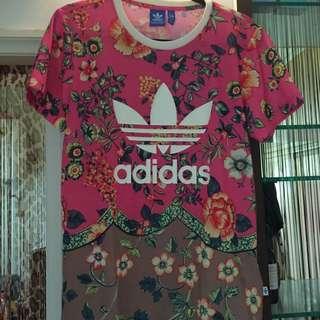 Adidas Originals聯名The farm company休閒短t