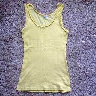 Pale Yellow Singlet