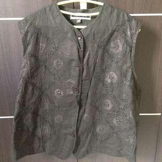 Black Rose Vest