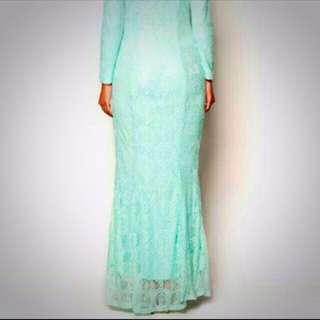 Zalia Mermaid Lace Dress