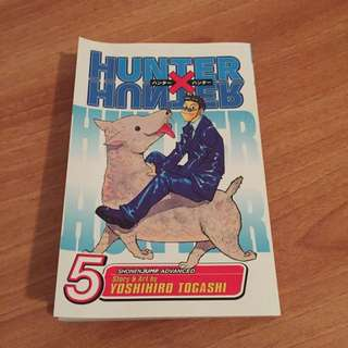 Hunter X Hunter 5 Manga