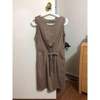 Size 10- Forcast Brown Dress