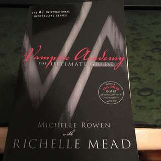 Vampire Academy Ultimate Guide Richelle Mead