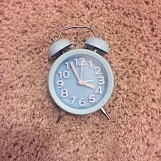 Little Blue Cute Clock