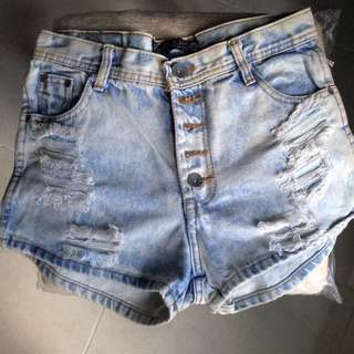 Unbranded Ripped Hotpant