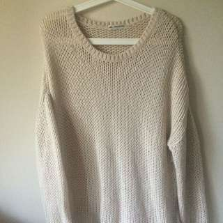 Mika And Gala Oversized Loose Knit