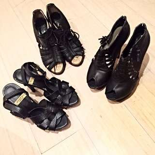 正韓 高跟鞋大出清 Size38