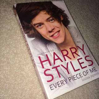 Harry Styles Every Piece Of Me Book