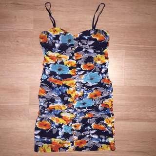 Asos Floral Dress Size 12