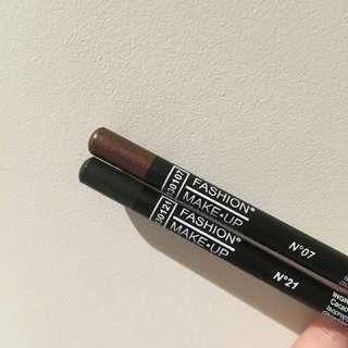 Long Crayon Eye Makeup