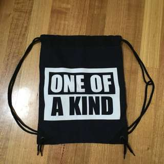 One Of A Kind Drawstring Backpack