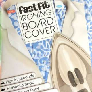 JML FastFit Ironing board Cover + Silicone Iron rest