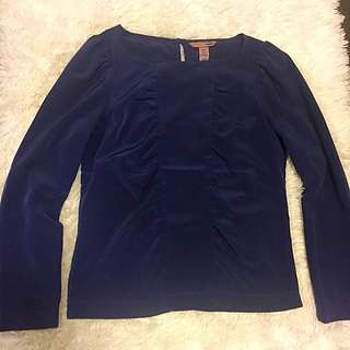 Japan H&M navy top