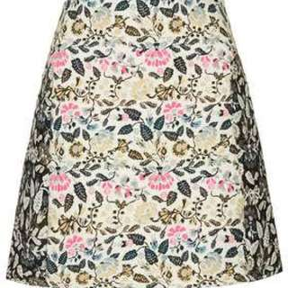 Top Shop Floral Skirt