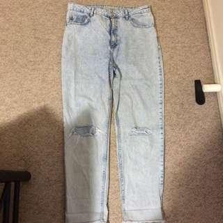 Bershka Boy Friend Jeans