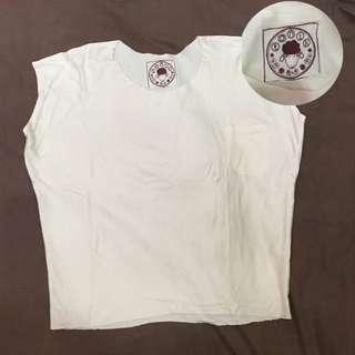White Plain Shirt / Baju Putih Polos