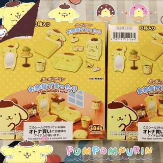 布丁狗「Re-ment盒玩模型」布丁狗房間傢俱可愛模型 一組8款~整盒販售不單售。現貨一盒