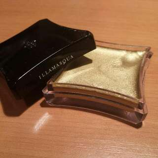 Illamasqua Cream eyeshadow base cream pigment - Gold (Solstice)