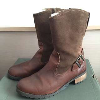 Timberland 專櫃中筒女靴 休閒鞋
