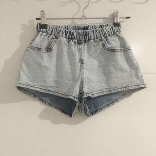 Retro Looking Denim Shorts