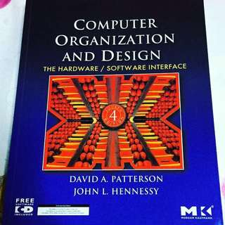 NUS CS2100 Computer Organization And Design: The Hardware/Software Interface By David A. Patterson & John L. Hennessy