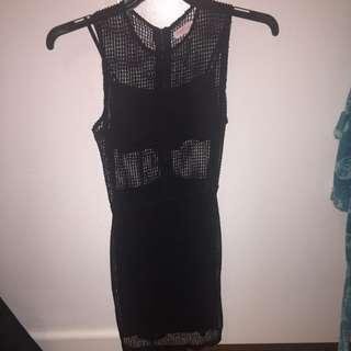 Black Dress S 8