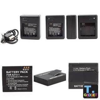 Xiaomi Yi Xiaoyi USB Charging Dock Dual Charger + Battery