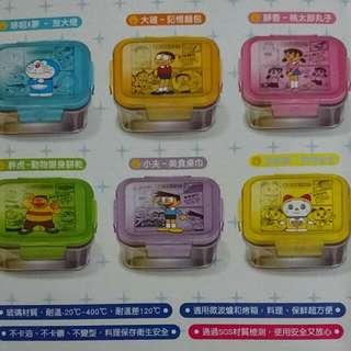 (交換)哆啦A夢 微波玻璃便當盒
