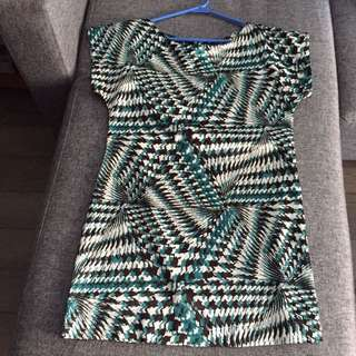 Abstract Pattern Dress Or Tunic!