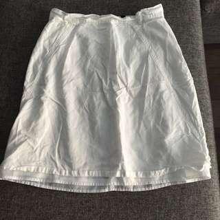 Jacob White A Line Skirt!