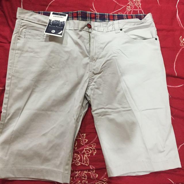 40腰休閒短褲