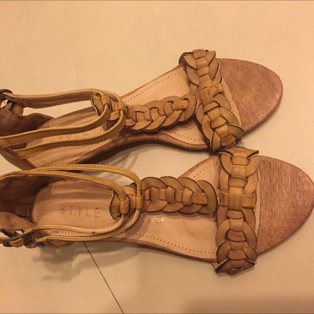 羅馬楔型鞋(最後降價)