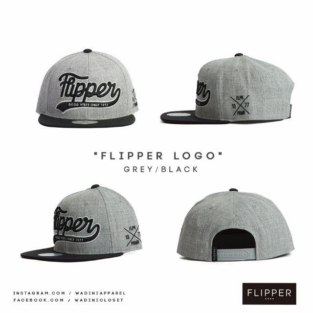 Authentic Premier Snapback - FLIPPER LOGO 235fb903019