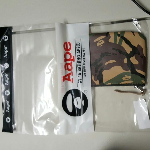 Bape Aape Bathing Ape Wallet/ Case