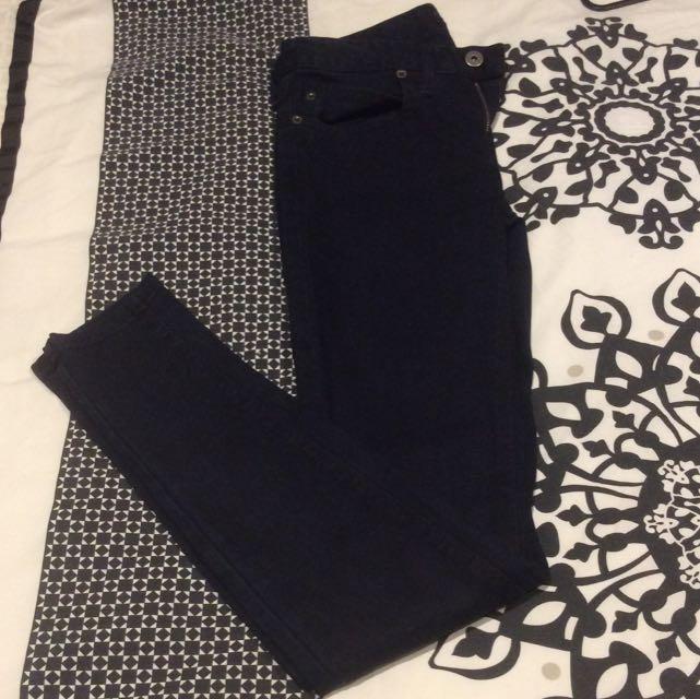 Bardot Skinny Jeans Dark Navy Sz 8