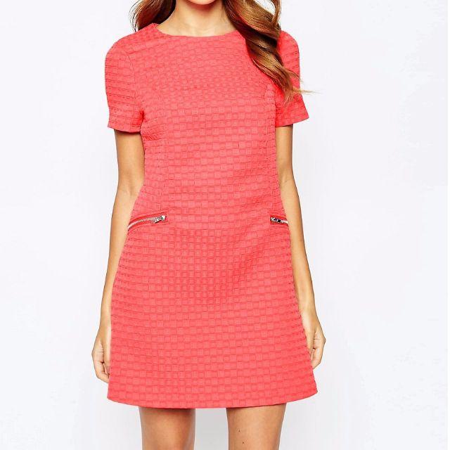 BNWT Coral Lipsy Shift dress