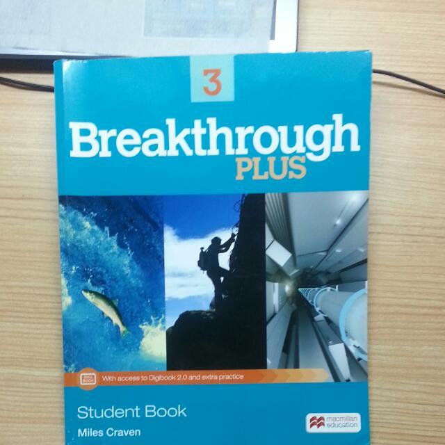 Breakthrough Plus 英文課本