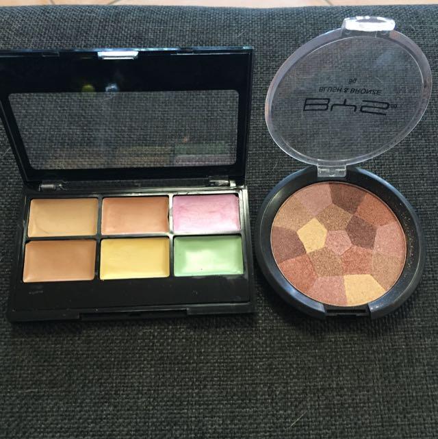 Concealer And Bronzer/Blush