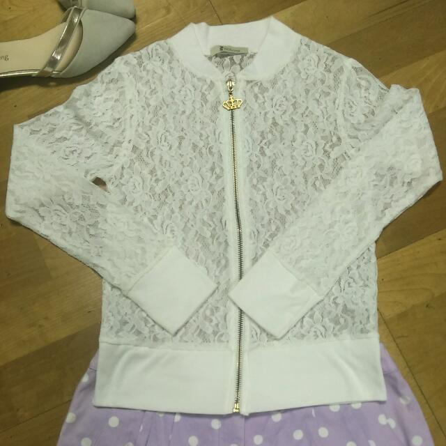 Catwalk 白色蕾絲外套
