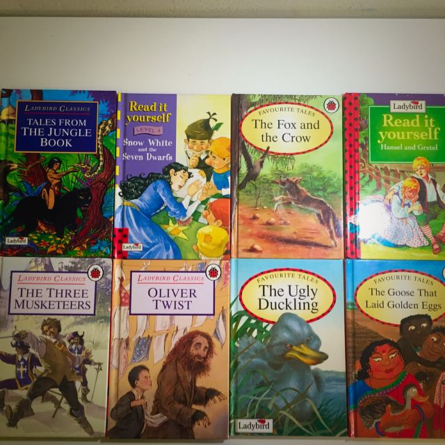 Children's And Fictional  Books