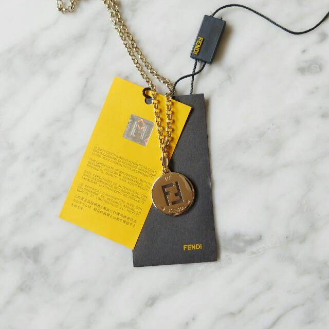 Fendi ID Tag Necklace
