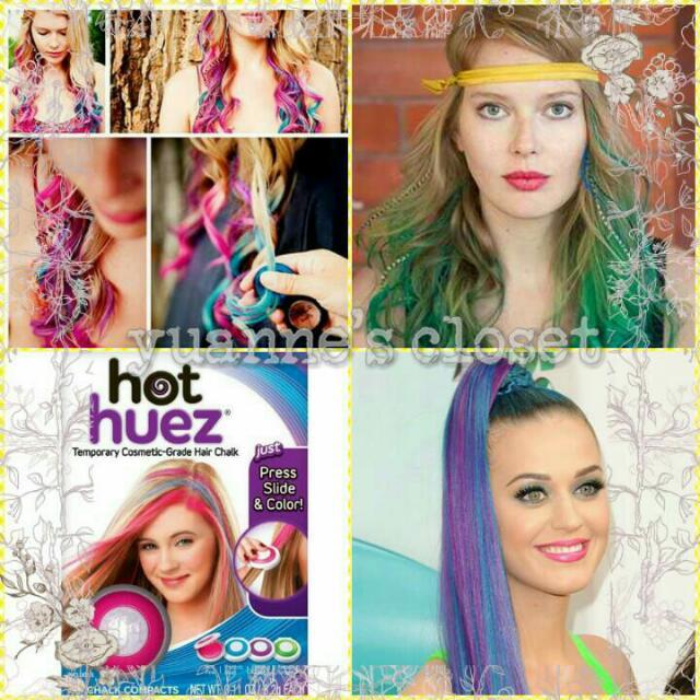 Hot Huez 4 Colors