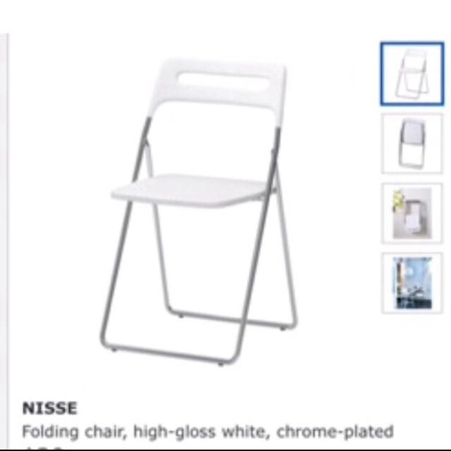 IKEA Folding Chairs X2