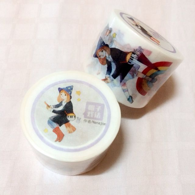 [INSTOCK] Girls Diary Washi by Nanajoe