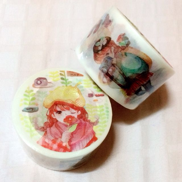 [INSTOCK] Travel Girl Washi