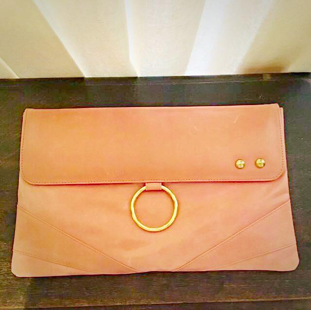 Leather Clutch / iPad Folder
