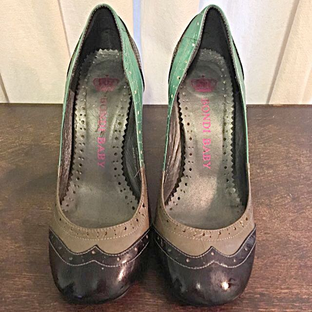 Leather Heels | Size 38